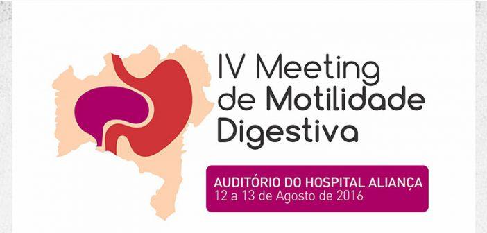 IV  MEETING DE MOTILIDADE DIGESTIVA