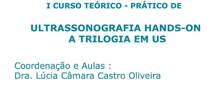 I CURSO TEÓRICO – PRÁTICO DE ULTRASSONOGRAFIA HANDS-ON A TRILOGIA EM US