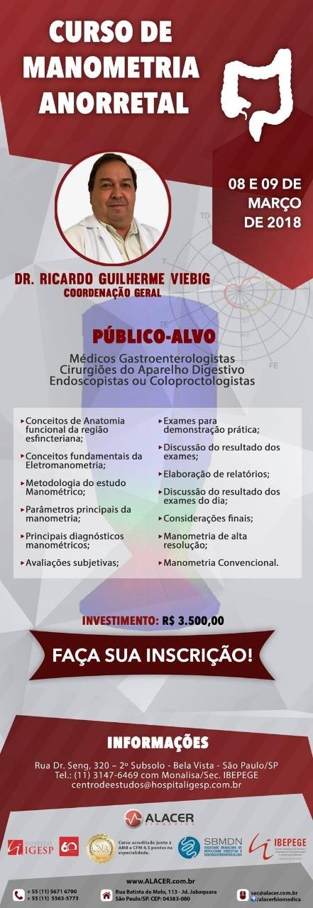 MANOMETRIA ANORRETAL DR. VIEBIG