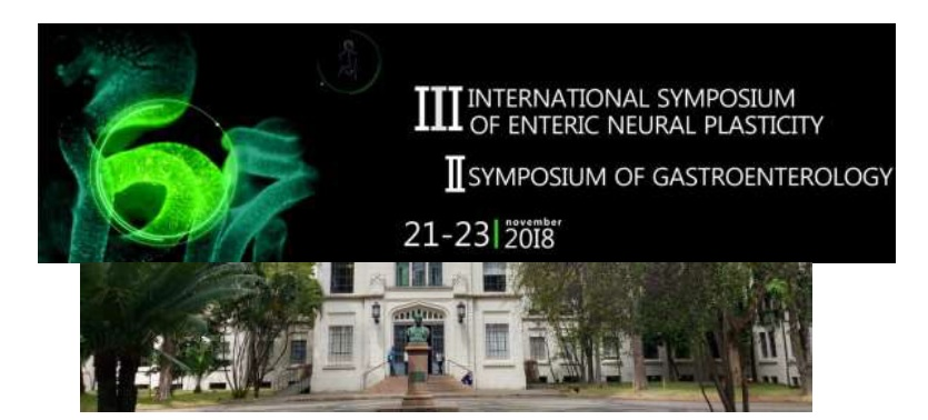 III International Symposium on Enteric Neural Plasticity – II Symposium on Gastroenterology