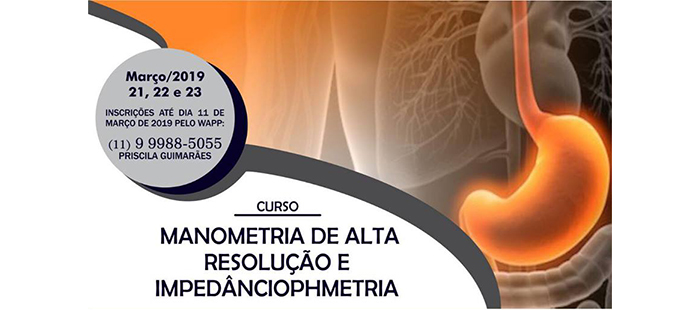 Curso Manometria de Alta Resolução e Impedânciophmetria