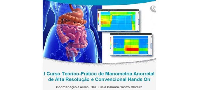 I Curso Teórico-Prático de Manometria Anorretal de Alta Resolução e Convencional Hands On