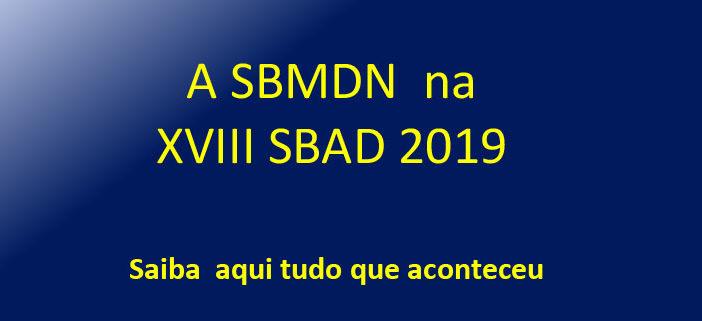A SBMDN na SBAD