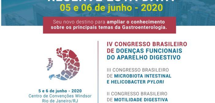 IV Congresso Brasileiro de Doenças Funcionais do Aparelho Digestivo