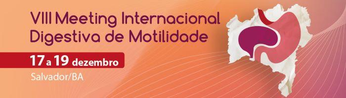 VII Meeting Internacional de MOtilidade Digestiva 2020